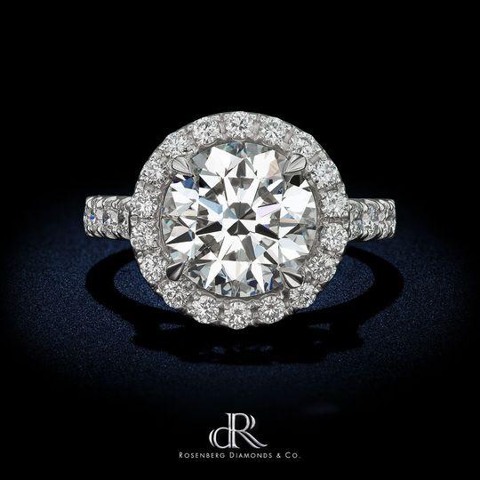 dr 4 08 carat round round diamond gia vvs1 halo by