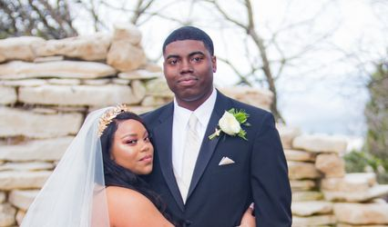 The wedding of Whitney and Quinecy