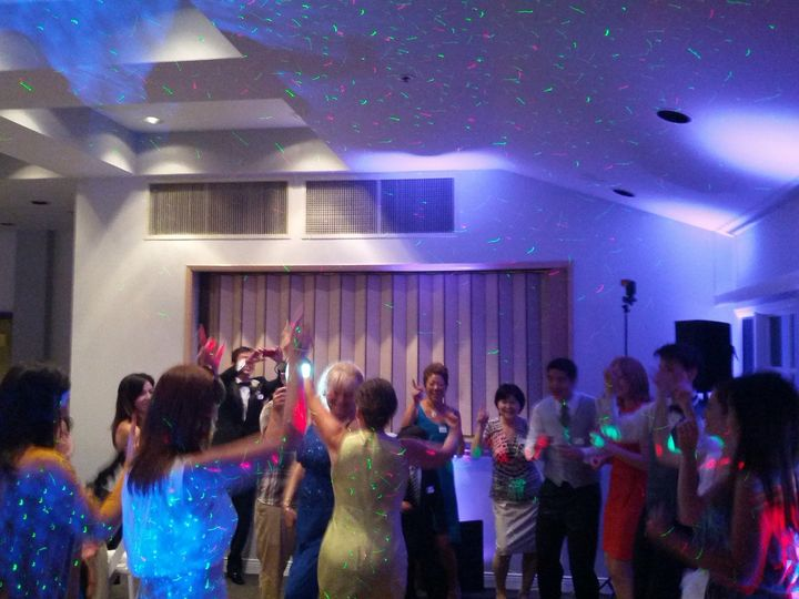 Wedding celebrationm