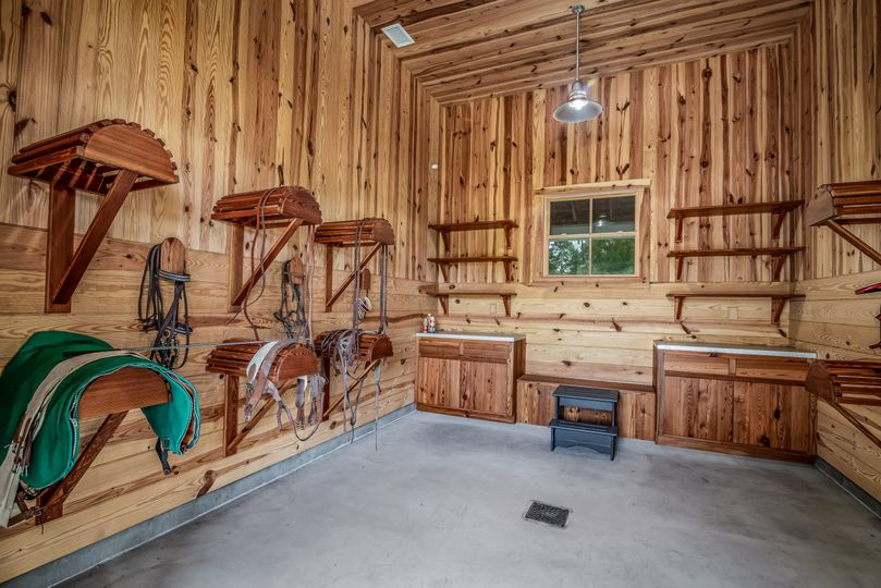 Stable Saddle Room Interior