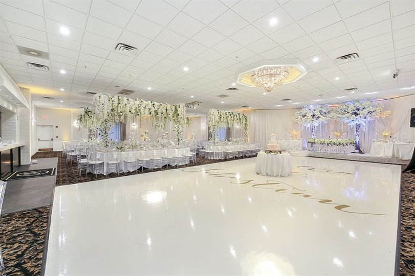 Reception hall and dance floor