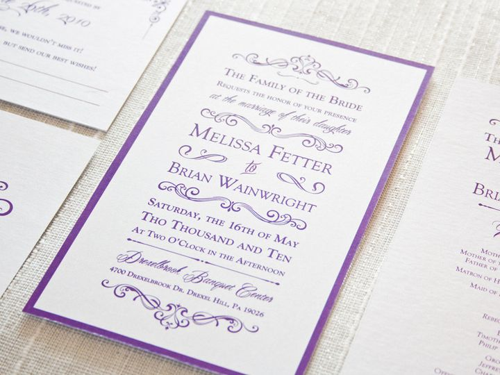 Tmx 1424796217338 Img6880low Media wedding invitation