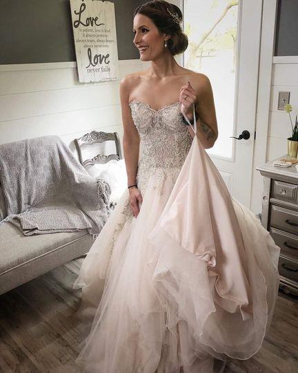 Beautiful Bride Amanda!