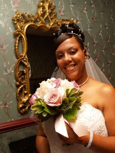 What a beautiful bride