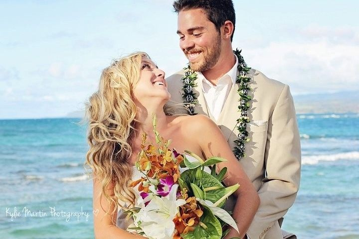 beachy wedding hair