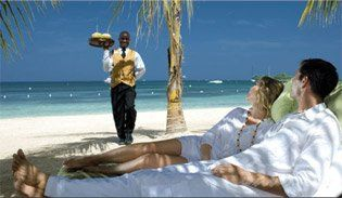 Butler service at Sandals and Beaches Resorts