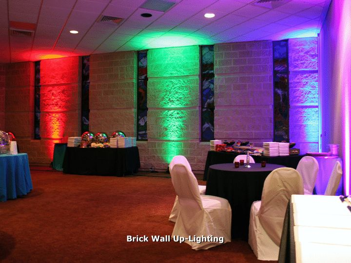 Tmx 1384768650553 Brickwalluplightin Snohomish wedding dj