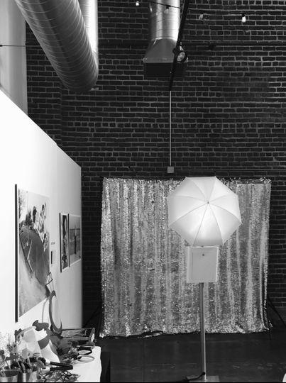 Photobooth station