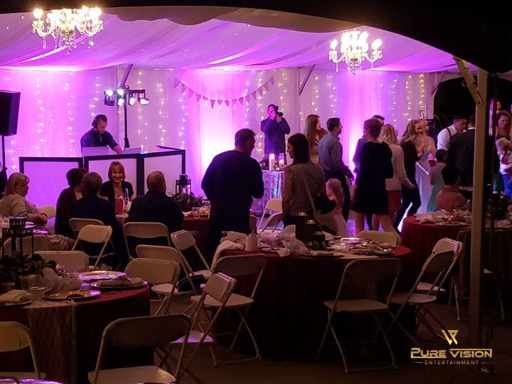 Tmx Creekside Tent Uplighting 51 1035391 160399035328747 Gresham, OR wedding dj
