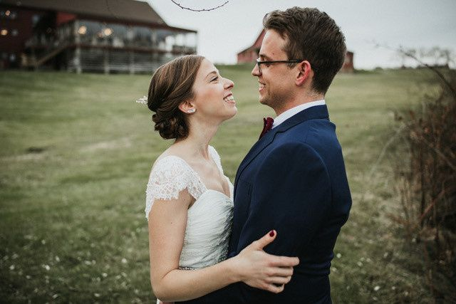 Deep Blue Bridal