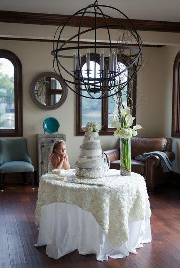 Wedding Cake and Wedding Decor.