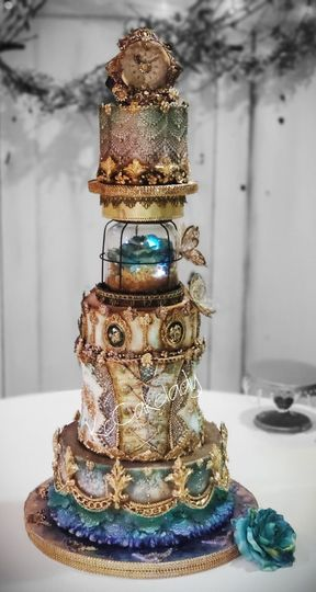 Creative freedom Victorian cak