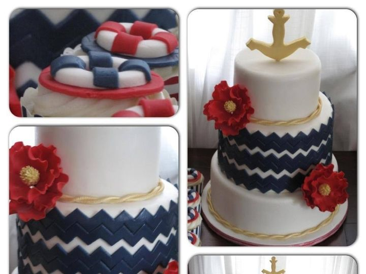 Tmx 1403632287663 Img2257 Valley Cottage wedding cake