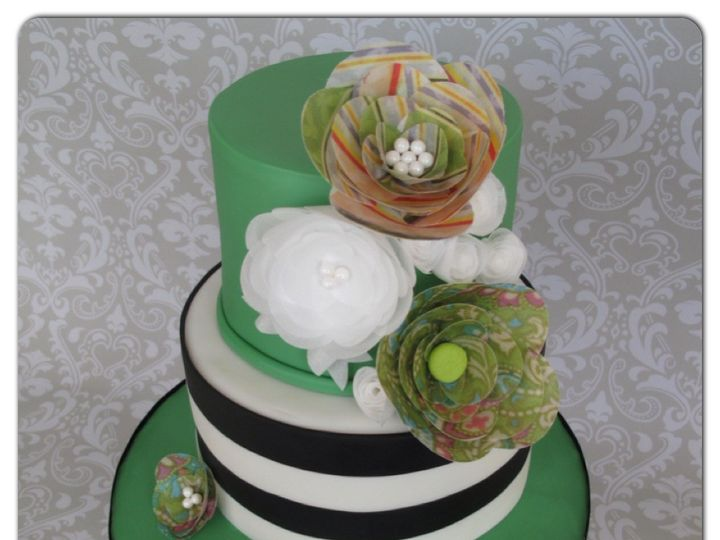 Tmx 1403633496701 Img3688 Valley Cottage wedding cake