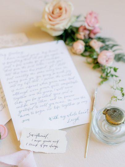 Love letter details