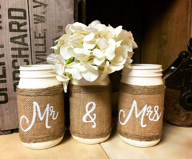 Mr. & Mrs. jars
