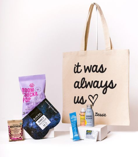 It Was Always Us Canvas Tote