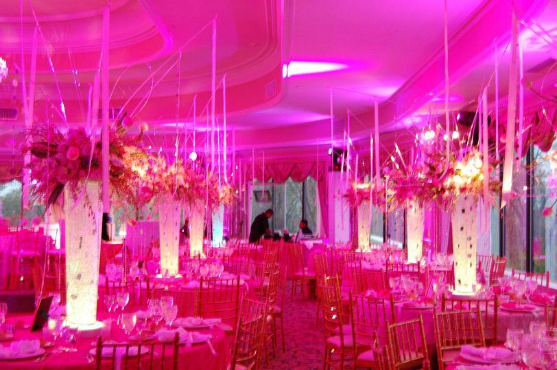 wireless ma lighting lights biz belchertown decor pinkballroom purpletablelighting wedding