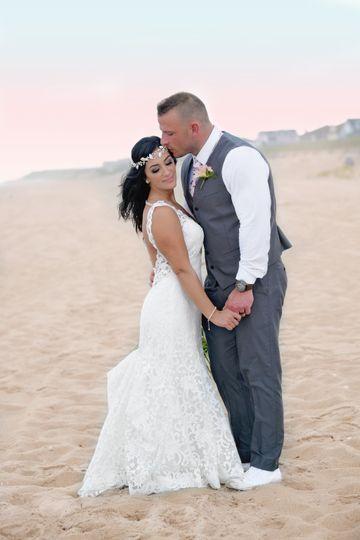Beach haven wedding