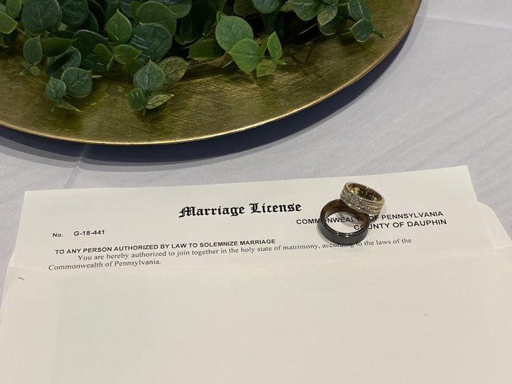 Tmx License 51 1941491 159838548258460 Harrisburg, PA wedding officiant