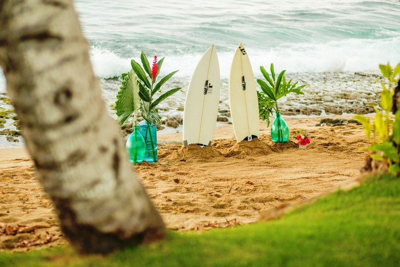 surfetrs wedding