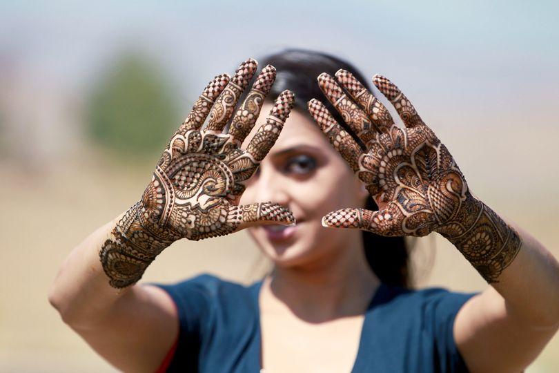 Bridal mehndi, bridal henna