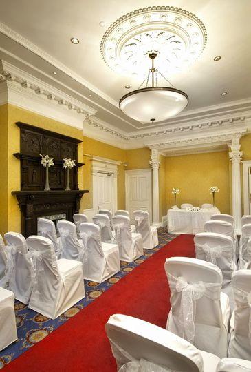 hilton puckrup hall tewkesbury wedding reception