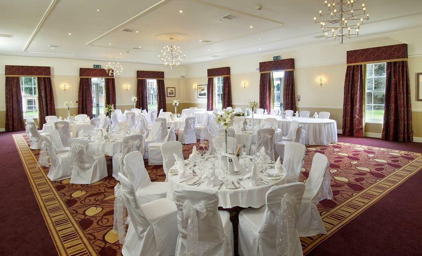 hilton puckrup hall tewkesbury wedding receptions