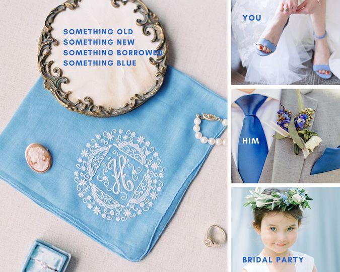2020 Wedding Color:  Blue