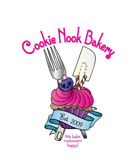 cookie nook bakery logo