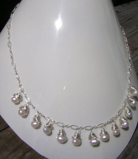 freshwater pearls & sterling silver