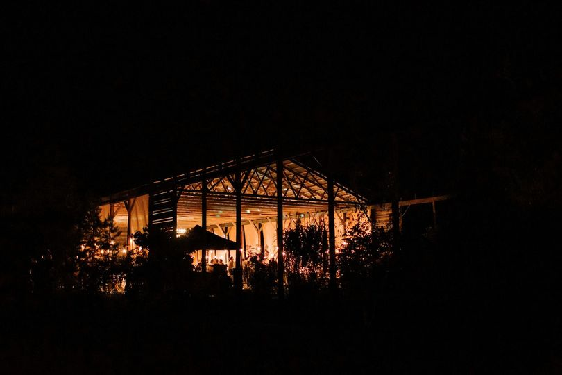 The Shelter at night