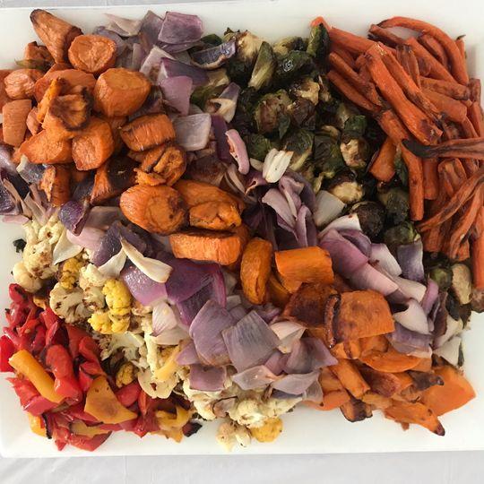 Grilled Vegetable Platters