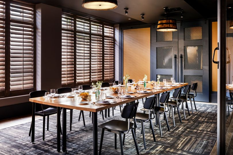 Baroak private dining room