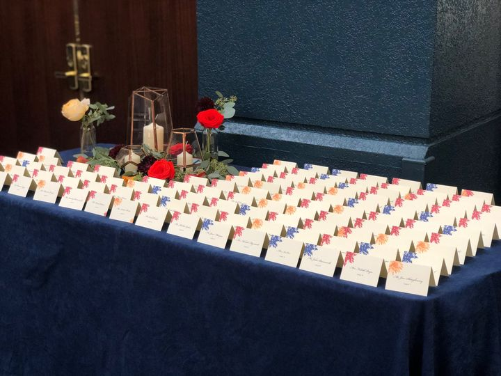 Tmx Escort Cards In Atrium 51 167491 160296384398879 Annapolis, MD wedding venue