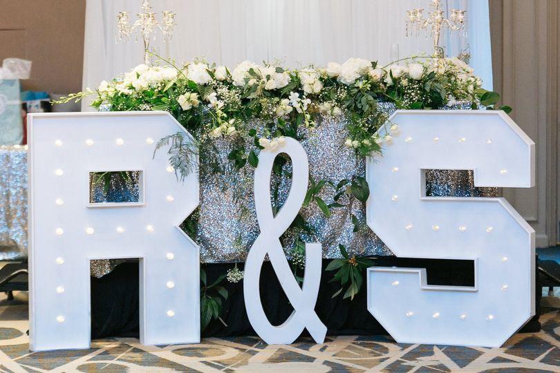 Lettering decor