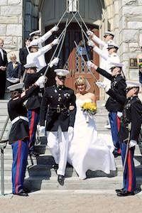 A soldier's wedding