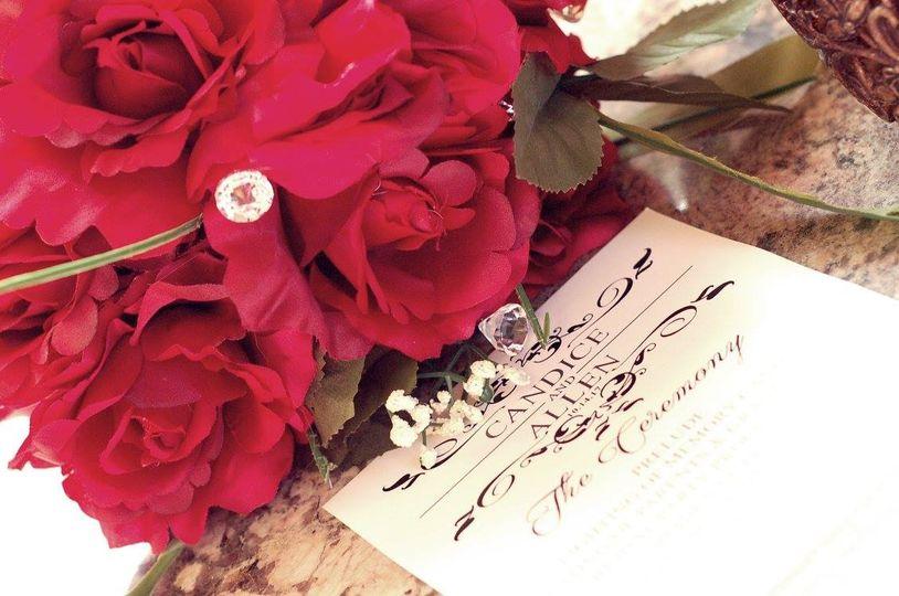 Bouquets & invitations