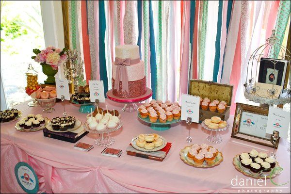 Shabby Chic Dessert Table photo by Daniel C