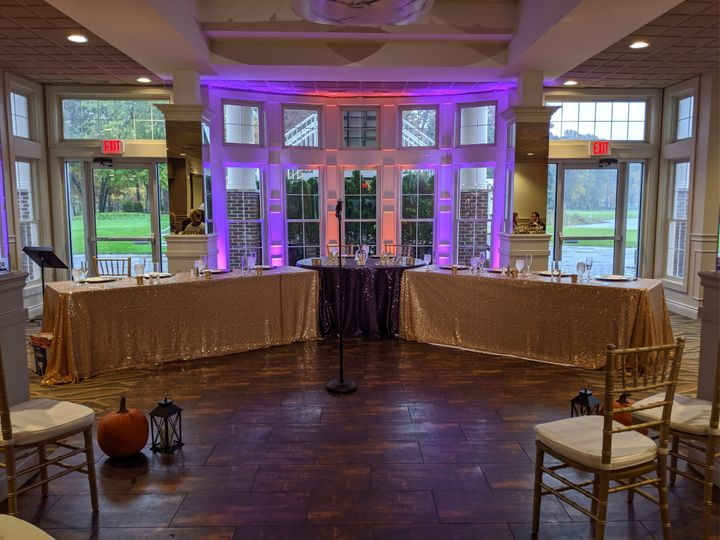 Head Table/Ceremony/Uplights