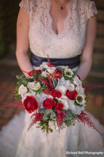 elizabeth brides bouquet 3