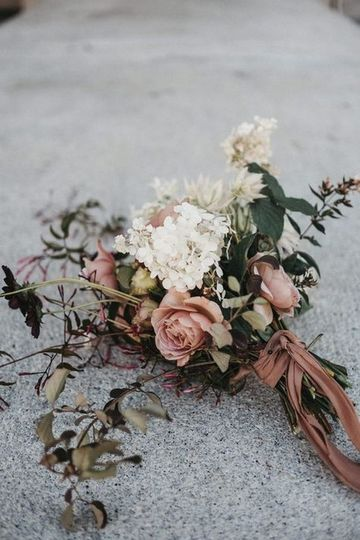 Dusty Rose and Sage Wedding
