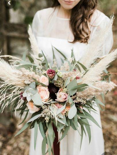 Bohemian Style Bouquet