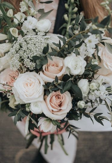 Blush Rose and Sage Wedding