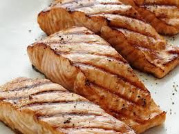 NW Salmon Grilled On Site