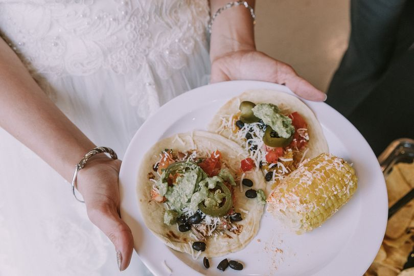 The Bride loves Tacos!