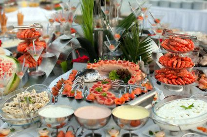catering san jose wedding seafood buffe