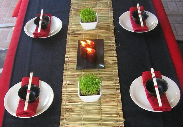 Birthday Asian infused event