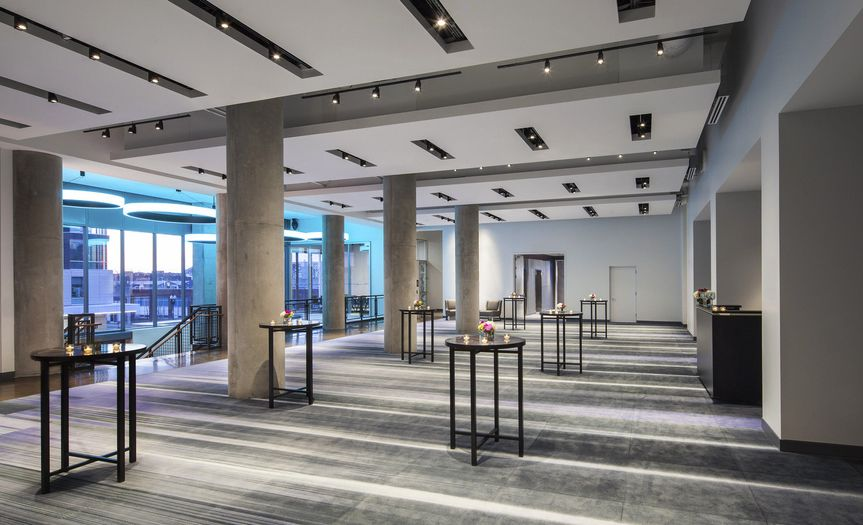 Mann foyer provides great pre-function space