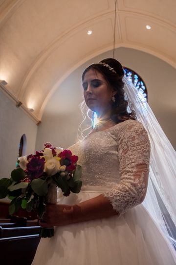 The beautiful bride (Marblehead, MA)